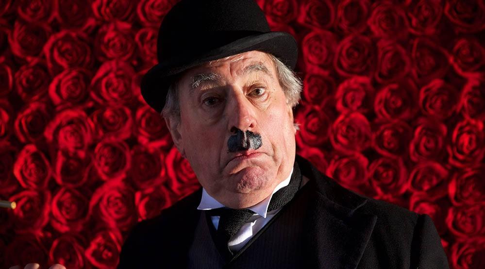 In Charlie Chaplin's footsteps