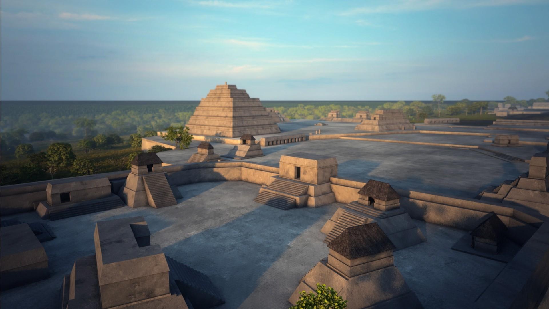 Naachtun - Zaboravljeni grad Maya