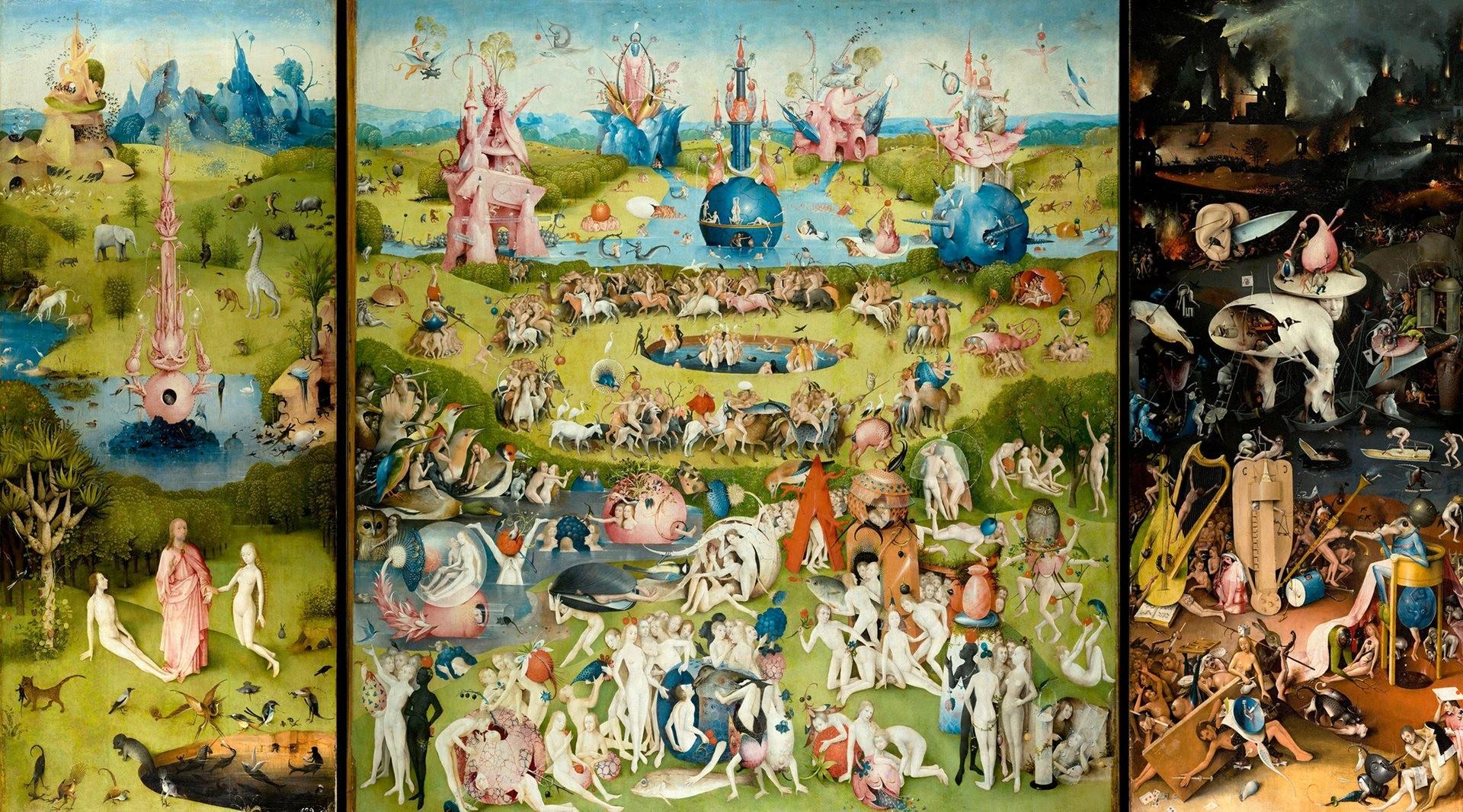 Bosch: Vrt zemaljskih naslada