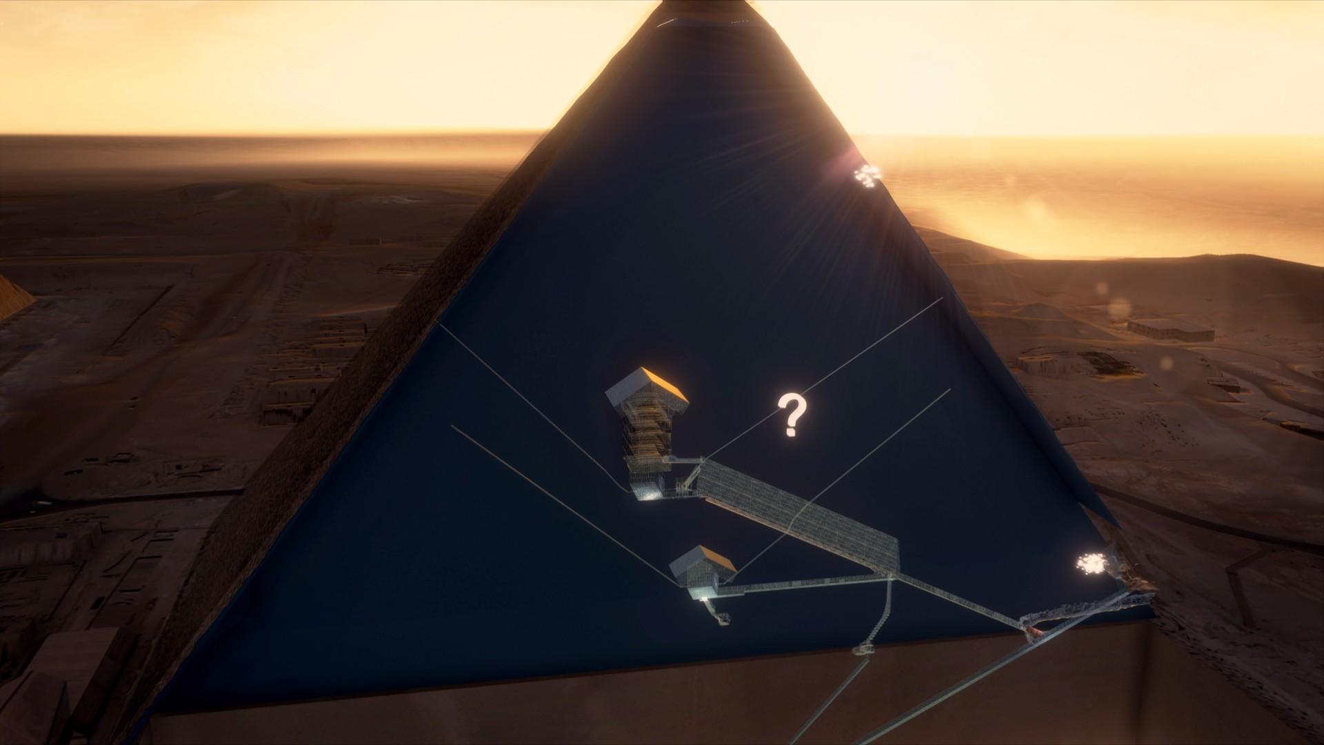 Misteriozna otkrića u velikoj piramidi