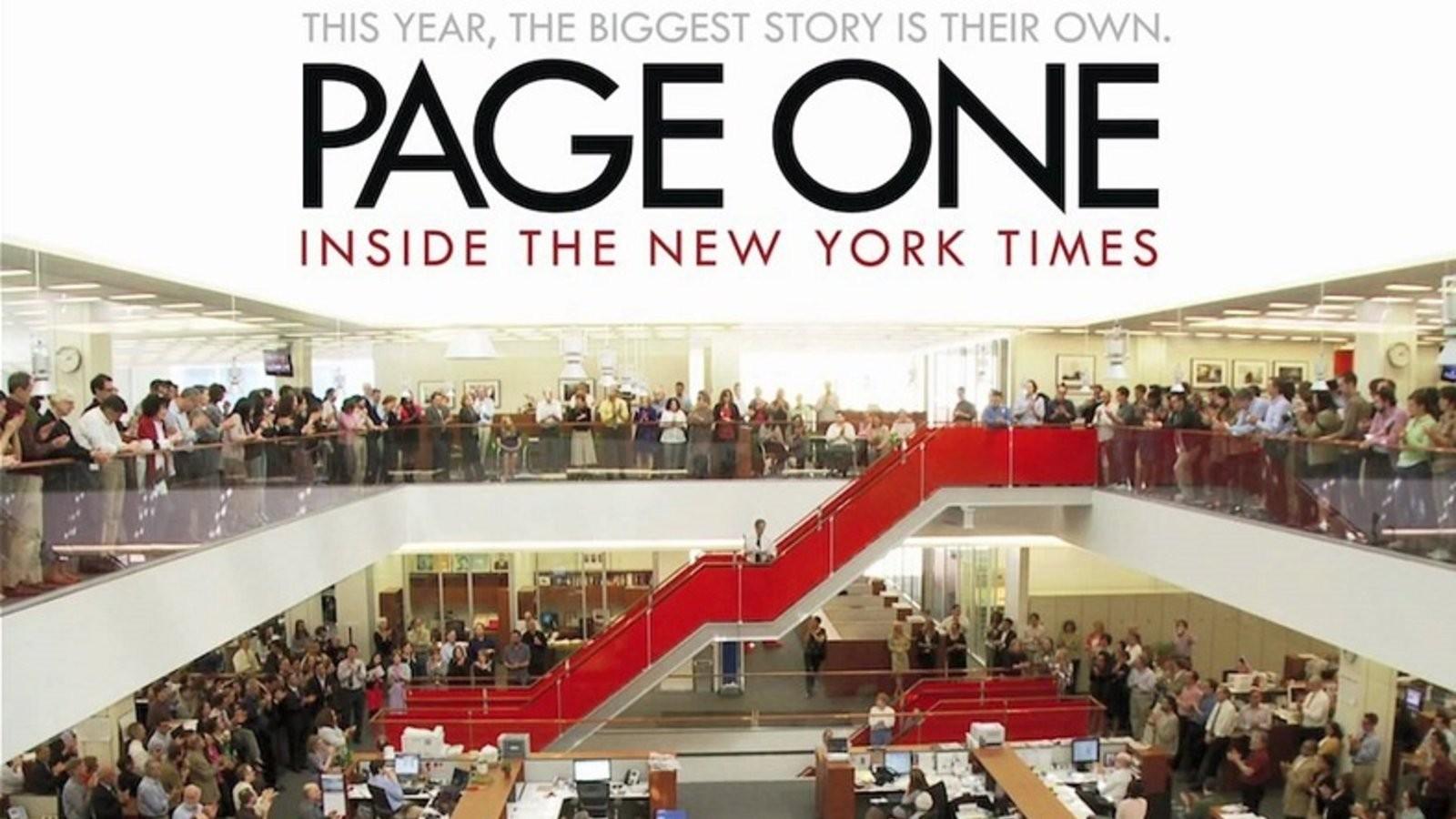 Prva stranica: Priča o New York Timesu