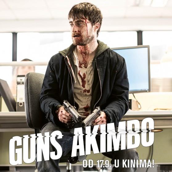 Akcijska triler komedija 'Guns Akimbo' u hrvatskim kinima