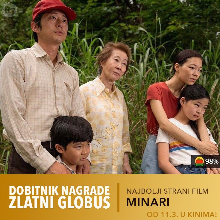 Američko-korejska drama 'Minari' u hrvatskim kinima